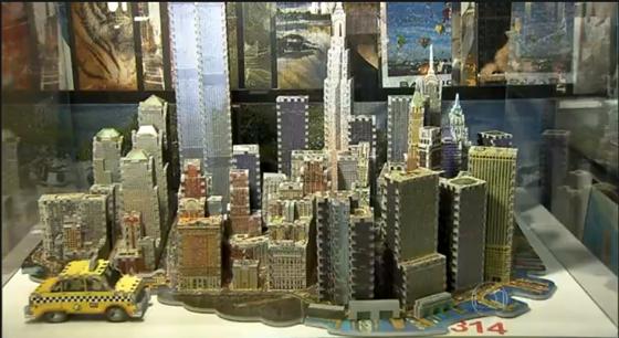 Manhattan Island Puzzle