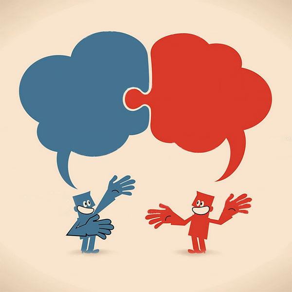 Talking Puzzle Bubbles