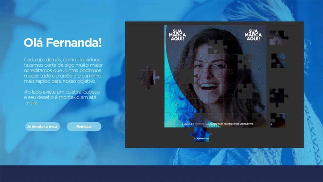 Projetos corporativos : Quebra-cabeça Digital